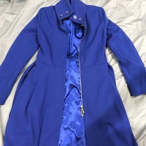 Armani Exchange Blue Coat